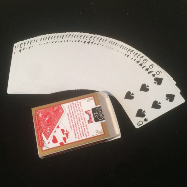 One Way Forcing Deck Bicycle. Mazzi di carte, giochi di prestigio e trucchi di magia in vendita su http://lassonellamanica.com