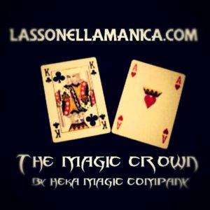 The Magic Crown by Heka. Mazzi di carte, giochi di prestigio, libri e dvd di magia in vendita su http://lassonellamanica.com .Recensioni, unboxing, tutorial!