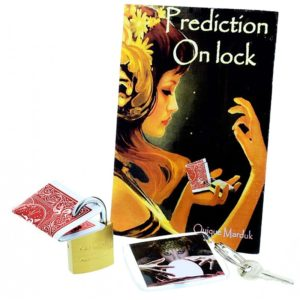 Prediction On Lock By Quique Marduk - LASSONELLAMANICA.COM - Mazzi di Carte, Giochi di Prestigio, Libri e Dvd di Magia. Recensioni, unboxing, tutorial!