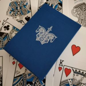 Blue Knights Playing Cards - LASSONELLAMANICA.COM - Mazzi di Carte, Giochi di Prestigio, Libri e Dvd di Magia. Recensioni, unboxing, tutorial!