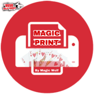 Magic Print by Magic Wolf - LASSONELLAMANICA.COM - Mazzi di Carte, Giochi di Prestigio, Libri e Dvd di Magia. Recensioni, unboxing, tutorial!