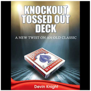 Knockout Tossed Out Deck by Devin Knight - LASSONELLAMANICA.COM - Vendita Mazzi di Carte, Giochi di Prestigio, Libri e Dvd di Magia.