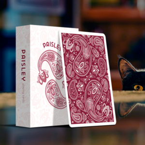 Paisley Playing Cards Special Edition Ruby Red - LASSONELLAMANICA.COM - Mazzi di Carte, Giochi di Prestigio, Libri e Dvd di Magia.