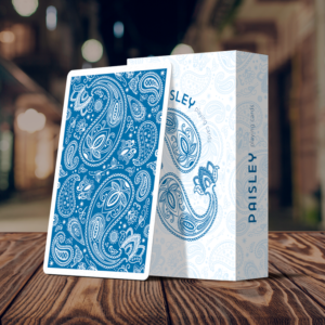 Paisley Playing Cards Special Edition French Blue - LASSONELLAMANICA.COM - Mazzi di Carte, Giochi di Prestigio, Libri e Dvd di Magia.