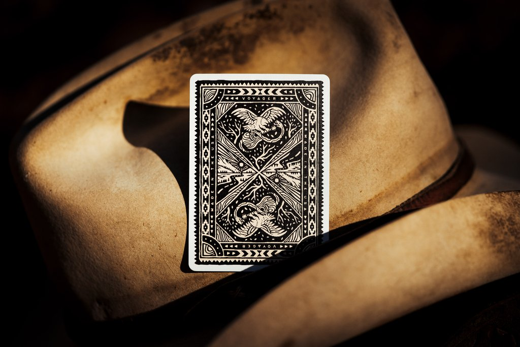 Voyager Playing Cards - LASSONELLAMANICA.COM - Dorso