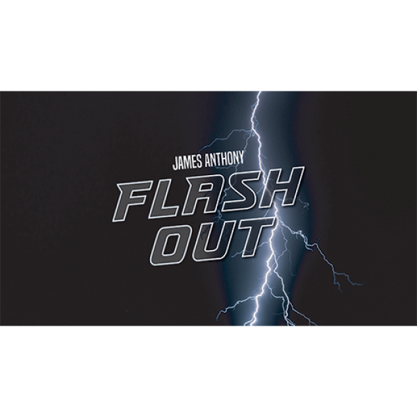 FLASH OUT by James Anthony - LASSONELLAMANICA.COM - Un Sito, Tutta la Magia! - Vendita Mazzi di Carte, Giochi di Prestigio, Libri e Dvd di Magia.