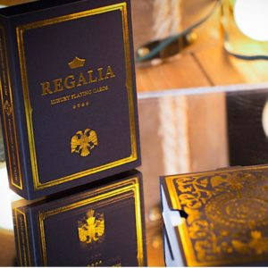 REGALIA BLACK Playing Card by SHIN LIM - LASSONELLAMANICA.COM - Mazzi di Carte, Giochi di Prestigio, Libri e Dvd di Magia. Recensioni, unboxing, tutorial!