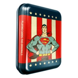 Superman Playing Cards - LASSONELLAMANICA.COM - Mazzi di Carte, Giochi di Prestigio, Libri e Dvd di Magia. Recensioni, unboxing, tutorial!